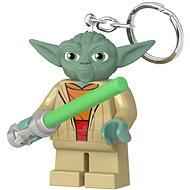 LEGO Star Wars - Yoda fénykarddal - Zseblámpa kulcstartó