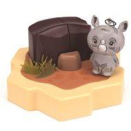 Hexbug Lil' Nature Babies - Rinocérosz, kis készlet - Játékszett