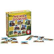 Memóriajáték Pexeso&Domino - Traktorok - Pexeso