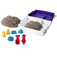 Kinetikus homok Utazó bőrönd formákkal - Kinetikus homok