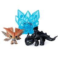 Így neveld a sárkányodat 3 Multi ajándékcsomag - Fogatlan és barna sárkány - Figurák