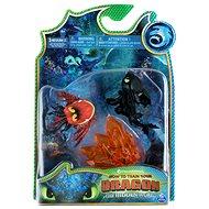 Így neveld a sárkányodat 3 Multi ajándékcsomag - Fogatlan és vörös sárkány - Figurák