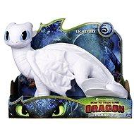 Így neveld a sárkányodat 3 Nagy delux plüss - fehér sárkány (Lightfury) - Plüssjáték