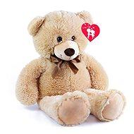 Rappa nagy medve címkével (80cm) - Plüssjáték