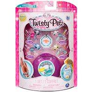 Twisty Petz 4 állatkölykös karkötő - Puppy és Panda - Gyermek karkötő