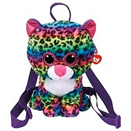 Ty Gear backpack Dotty - multicolor leopard 25 cm - Plüssjáték