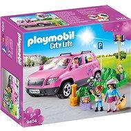 Playmobil Családi autó parkolóhellyel