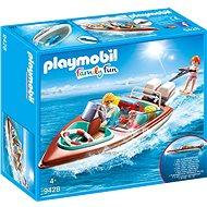 Playmobil 9428 Motorcsónak vízalatti motorral - Építőjáték
