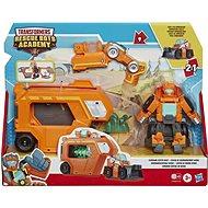 Transformers Rescue Bot Wedge Rescue Trailer Autó utánfutóval - Robot autó