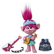 Trolls Poppy Éneklő baba rock tartozékokkal - Figura