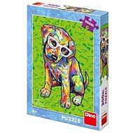 Dino Kiskutyus szemüvegben - Puzzle
