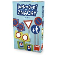 Memóriajáték Dino Jelzőtáblák - Pexeso