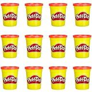 Play-Doh készlet 12 db piros tégely - Gyurma