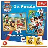 Mancs őrjárat - 2 az 1-ben puzzle + memóriajáték - Puzzle