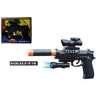 Hangtompítós pisztoly - Játékfegyver