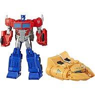 Transformers Cyberverse Optimus Prime figura tartozékokkal - Robot autó