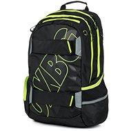 OXY Sport BLACK LINE green hátizsák - Iskolatáska