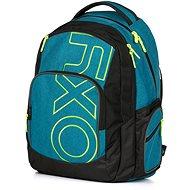 OXY Style Blue/Green Hátizsák - Iskolatáska