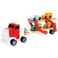 Készségfejlesztő játék Félpótkocsi autókkal