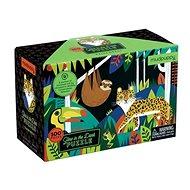 Világító puzzle - Esőerdő (100 db) - Puzzle