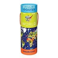 Puzzle és poszter - Világ (200 db) - Puzzle