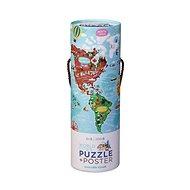 Puzzle és poszter - Világvárosok (200 db) - Puzzle