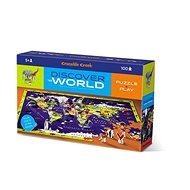 Discovery Puzzle - Világ (100 db) - Puzzle