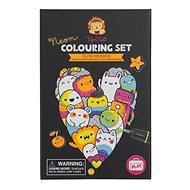 Kifestőkönyv Neon színező készletek / Luminous Friends