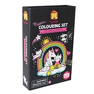 Kifestőkönyv Neon színező készletek / Egyszívóvú és barátai