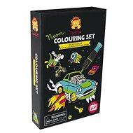 Kifestőkönyv Neon színező készletek / Az út csillaga