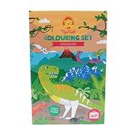Kifestőkönyv Színező készletek / Dinoszaurusz