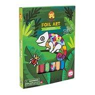 Kreatív szett Foil Art / Esőerdő