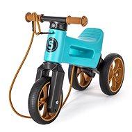Funny Wheels Super Sport 2 az 1-ben, türkizkék - Futóbicikli