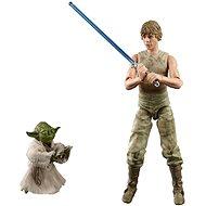 Star Wars Luke és Yoda Dagobah figurák gyűjtők számára - Figura