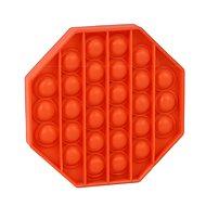 Pop it - nyolcszög, narancssárga - Társasjáték