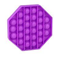 Pop it - nyolcszög, lila - Társasjáték
