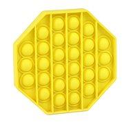 Pop it - nyolcszög, sárga - Társasjáték