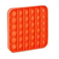 Pop it - négyzet, narancssárga - Társasjáték