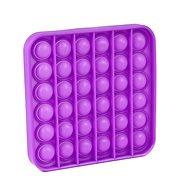 Pop it - négyzet, lila - Társasjáték
