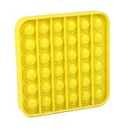 Pop it - négyzet, sárga - Társasjáték