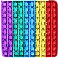 Mega Pop it szivárványos négyzet - Társasjáték