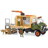 Figura Schleich 42475 Nagy állatmentő teherautó