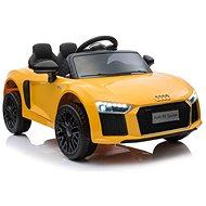 Audi R8 small - sárga - Elektromos autó gyerekeknek