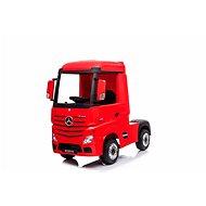 Mercedes-Benz Actros, piros - Elektromos autó gyerekeknek