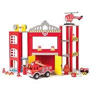 Woody Nagy tűzoltóállomás autókkal - Játékszett