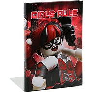 LEGO Batman Movie Napló Harley Quinn/Batgirl - Jegyzettömb