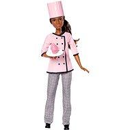 Barbie Karrierbabák- Cukrásznő - Baba