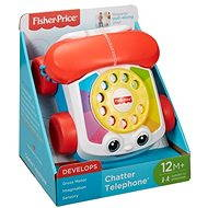 Fisher-Price - Húzható telefon - Interaktív játék