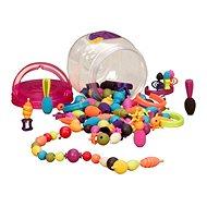 B-Toys pattintható gyöngyök és formák Pop Arty  150 db - Gyöngyök