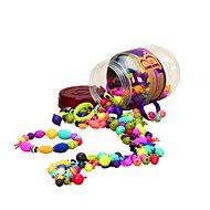 Gyöngyök B-Toys Gyöngyök és formák összekapcsolása Pop Art 275 db